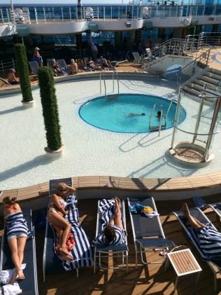 Princess Cruises Regal Princess aft pool