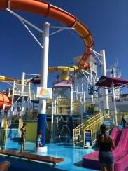 carnival cruise line breeze cruise ship waterslide