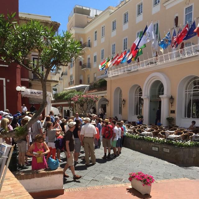 Costa Cruise Diadema cruise ship shore excursion capri hotel