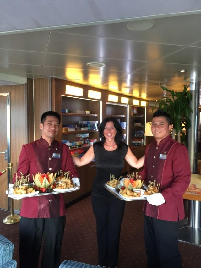 Holland America Eurodam captains cocktail party