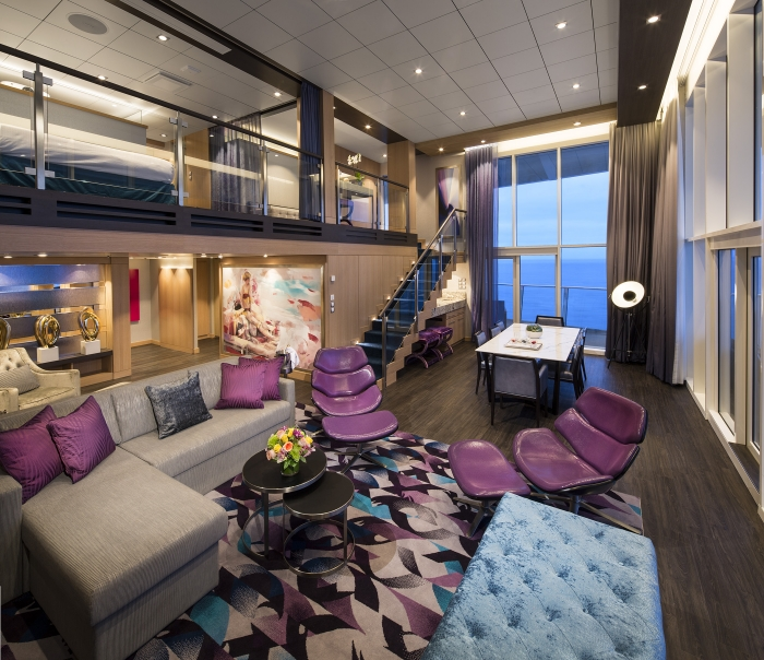 Royal Caribbean Cruise Line Harmony of the Seas most luxurious suites