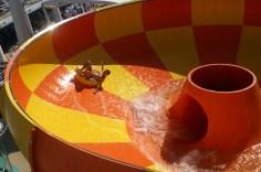 Norwegian Cruise lines waterslide bowl