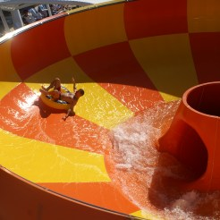 Norwegian Cruise lines waterslide bowl
