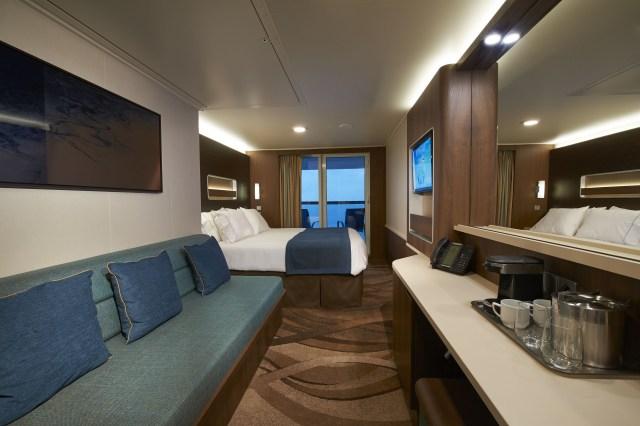 Norwegian cruises escape cruise ship balcony cabin view