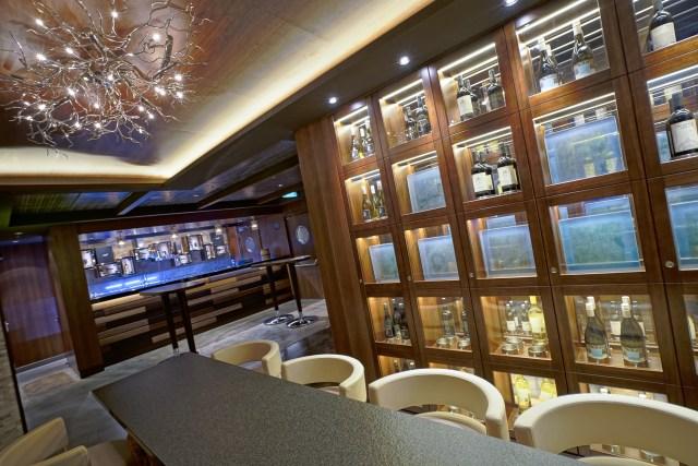 Norwegian cruises escape cruise ship cellar