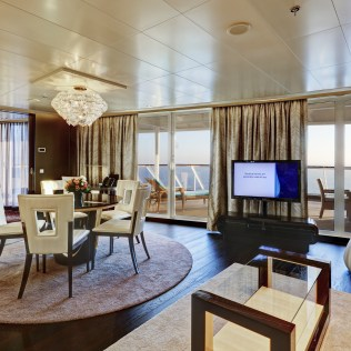 Norwegian cruises escape cruise ship deluxe owners suite