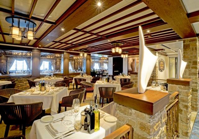 Norwegian cruises escape cruise ship lacucina dining tables