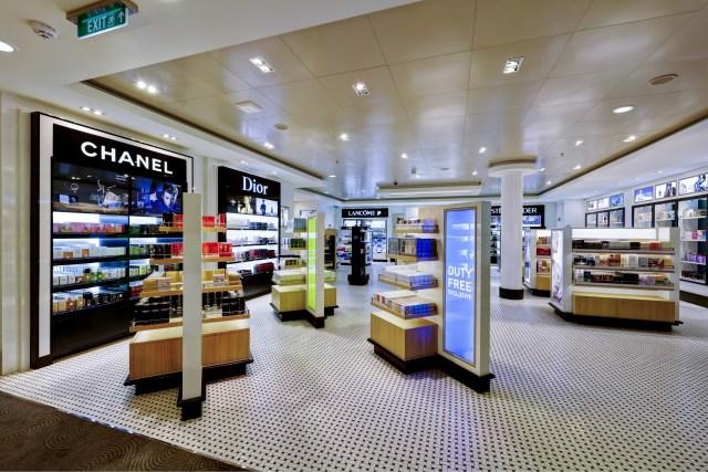 Norwegian cruises escape cruise ship perfume store