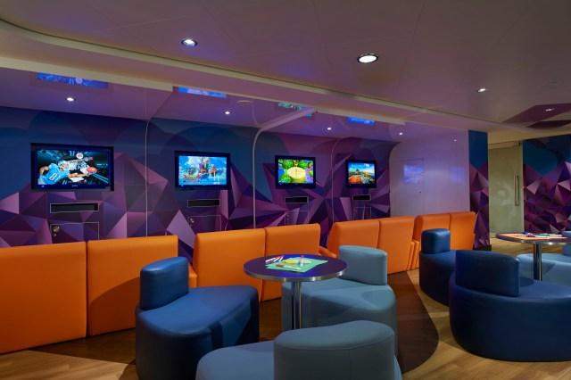 Norwegian cruises escape cruise ship daycare centre