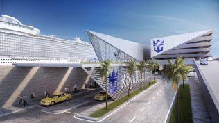 royal caribbean miami cruise terminal road