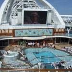 Ruby Princess cruise ship pool