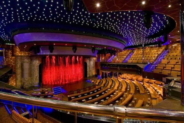 seabourn encore theatre