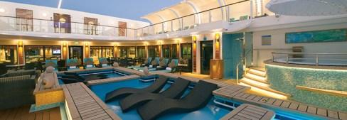Norwegian Getaway cruise ship Haven pool