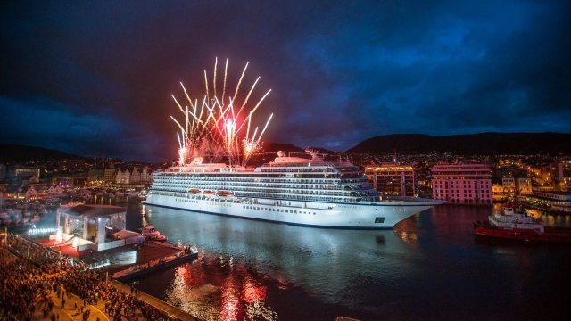 Viking Cruises Viking Sea christening