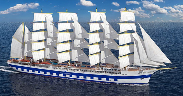 Star Clippers' Flying Clipper launching soon