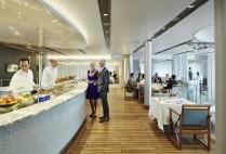 Residensea cruises The World cruise ship buffet