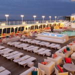 Crystal Symphony pool deck