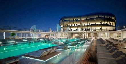 msc meraviglia cruise ship pool