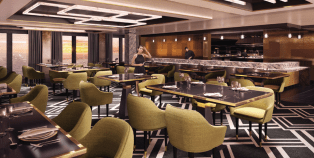 Dream Cruises Genting Dream cruise ship bar