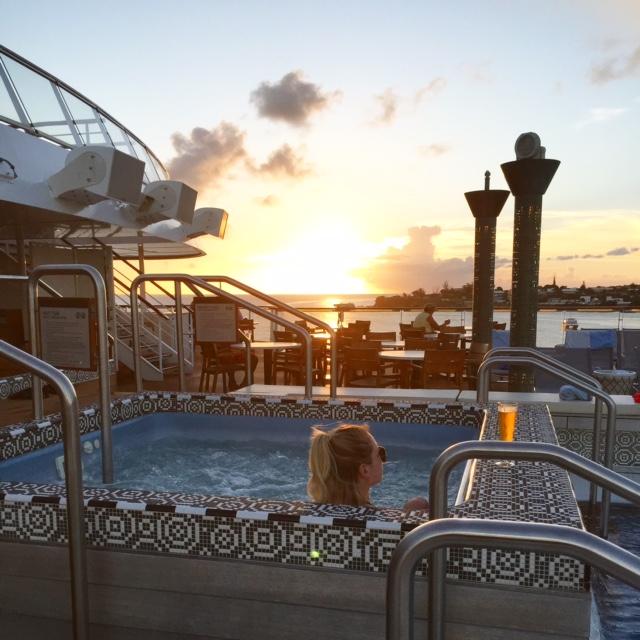 Viking Cruises Viking Star cruise ship aft hot tub