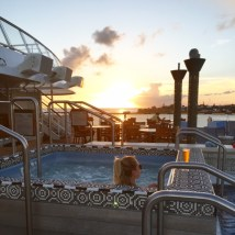 Viking Cruises Viking Star cruise ship aft hot tub