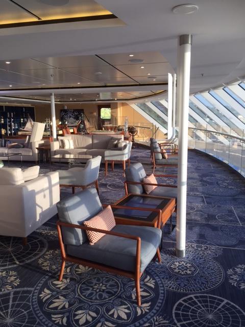 Viking Cruises Viking Star cruise ship Explorer lounge daylight