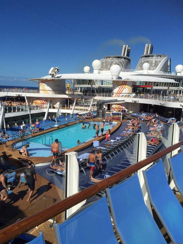Royal Caribbean Cruises Harmony of the Seas cruise ship main pool