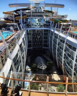 Royal Caribbean Cruises Harmony of the Seas cruise ship central park