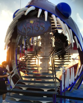 Royal Caribbean Cruises Harmony of the Seas cruise ship abyss text
