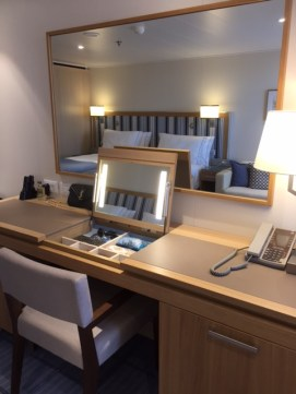 Viking Cruises Viking Star cruise ship cabin vanity desk