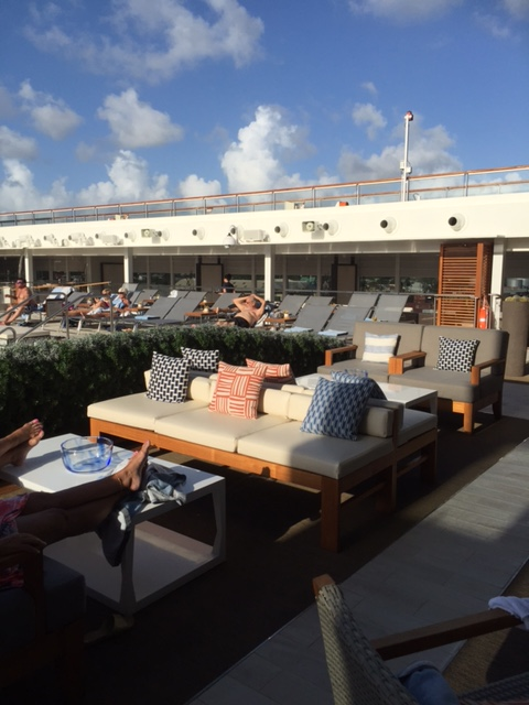 Viking Cruises Viking Star cruise ship outdoor loungers