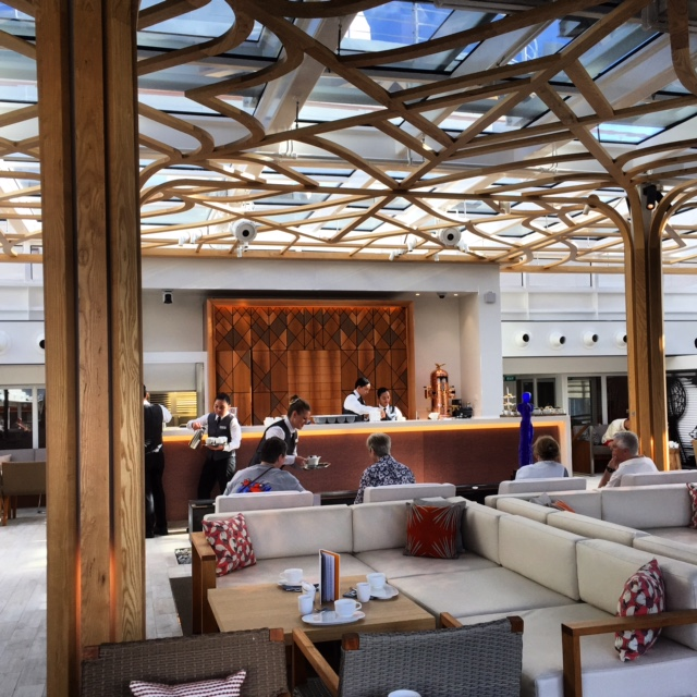 Viking Cruises Viking Star cruise ship Wintergarden tea lounge