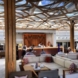 Viking Cruises Viking Star cruise ship Wintergarden tea lounge