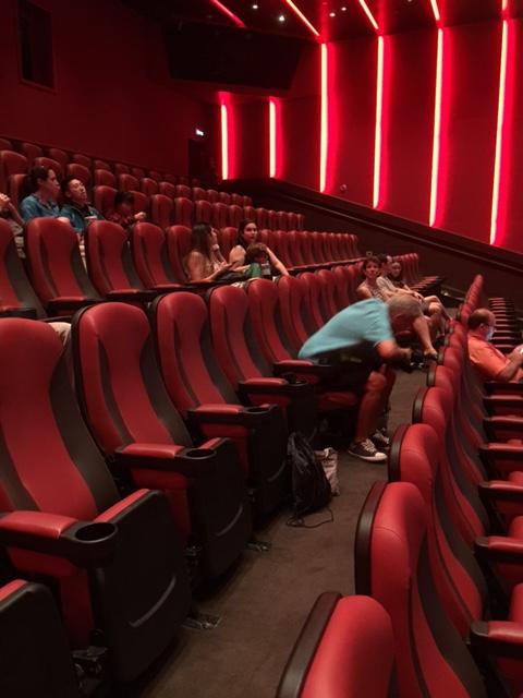 Carnival Cruises Vista cruise ship IMAX theater seating