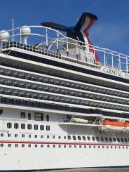 Carnival Cruises Vista cruise ship skyrider track