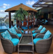 Carnival Cruises Vista cruise ship aft seating