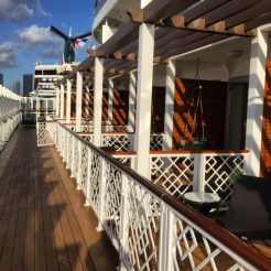 Carnival Cruises Vista cruise ship cabin patio balconies