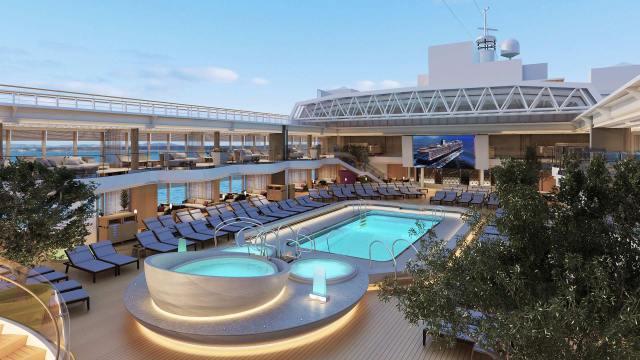 cleanest cruise ships Holland America Koningsdam