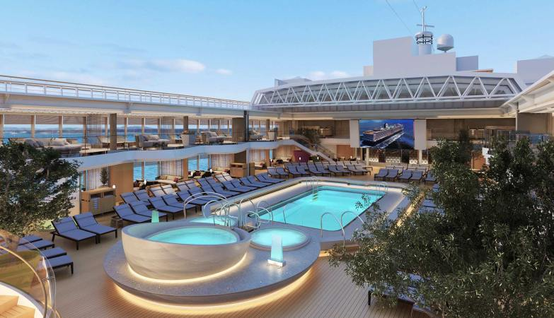 cleanest cruise ships Holland America Koningsdam