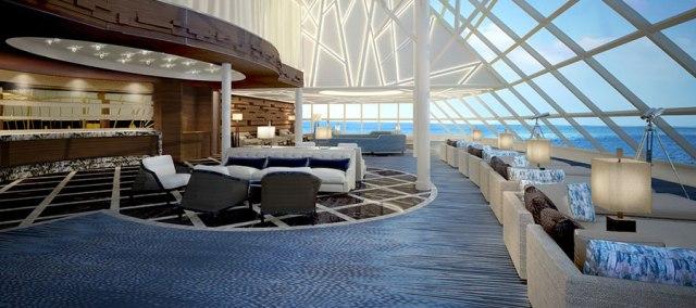 Norwegian Cruise Line Joy haven observation