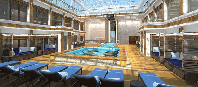 Norwegian Cruise Line joy haven pool