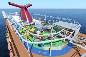 Carnival Cruises Vista cruise ship full track