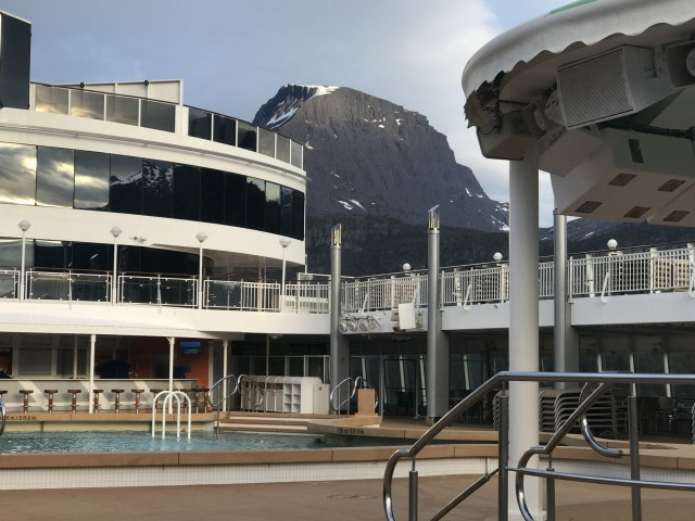 Norwegian cruises Jade cruise ship Norway pool