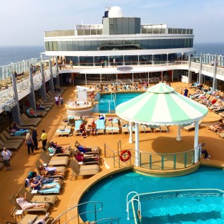 Norwegian cruises Jade cruise ship Norway pool