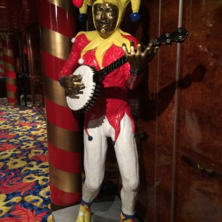 Norwegian cruises Jade cruise ship Norway jester statue