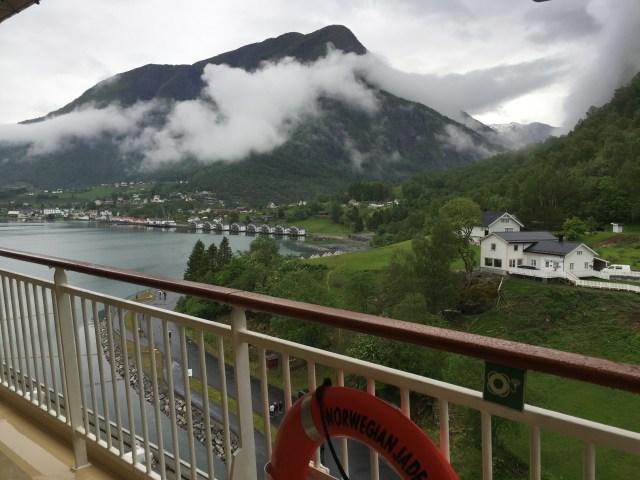 Norwegian cruises Jade cruise ship Norway port