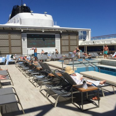 Viking cruises sky cruise ship mid ship pool