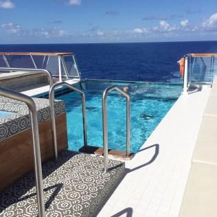 Viking cruises sky cruise ship infinity pool
