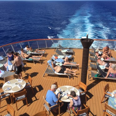 Viking cruises sky cruise ship aft deck