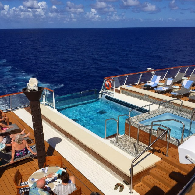 Viking Cruises Viking sky infinity pool